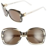 Tory Burch Women's 57Mm Retro Sunglasses - Olive