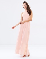 Lumier When Will I See you Again High-Neck Dress