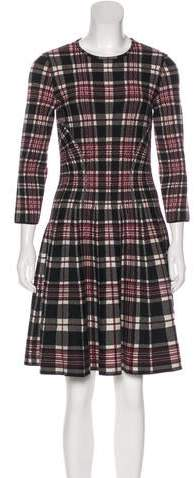 Alexander McQueen Wool Knee-Length Dress w/ Tags