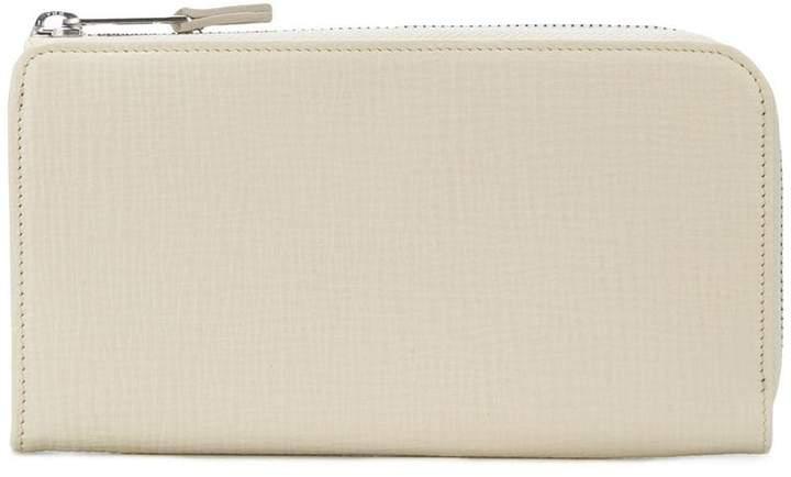 Maison Margiela long zipped contrast wallet