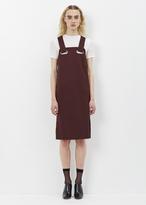 Toga Brown Chambray Jersey Dress 2