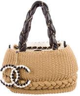 Chanel Raffia Coco Country Bag