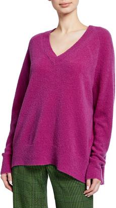 Christian Wijnants Karwat V-Neck Wool Sweater