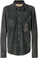 Dolce & Gabbana crest detail shirt