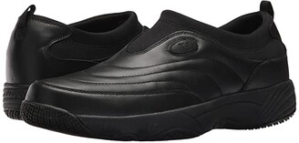 Propet Wash Wear Slip-on (Pewter Suede) Men's Shoes