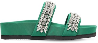 SUECOMMA BONNIE 20mm Embellished Neoprene Slide Flats