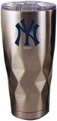 New York Yankees Unbranded 22oz. Diamond Bottom Stainless Steel Tumbler