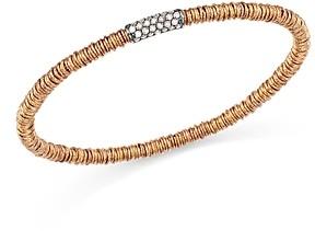 Roberto Demeglio 18K Rose Gold Joy Stretch Bracelet with Champagne Diamonds