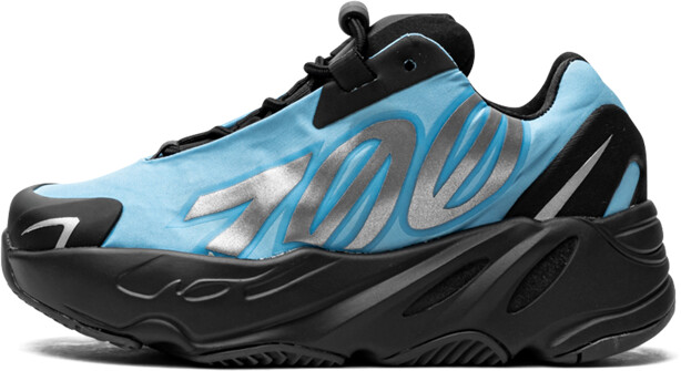 Adidas Yeezy Boost 700 MNVN Kids 'Bright Cyan' Shoes - Size 13.5K