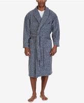 Nautica Men's Marled Fleece Shawl Collar Robe
