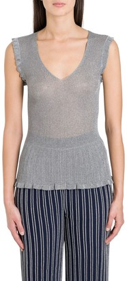 M Missoni V-Neck Sleeveless Top