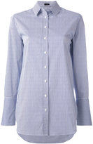 Joseph striped shirt - women - Cotton/Polyamide/Spandex/Elastane - 44