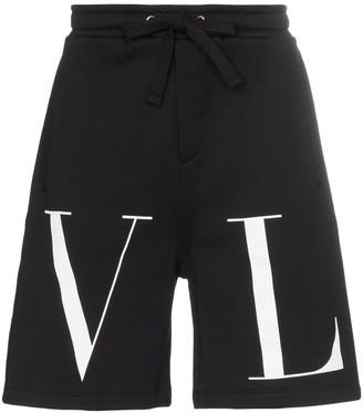Valentino VLTN print shorts