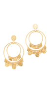 Kate Spade Flip a Coin Statement Earrings