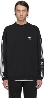 adidas Black Lock Up Crew Sweatshirt