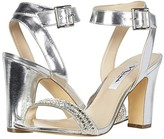 Nina Sharon (Silver Metallic Foil/Clear Vinyl) Women's Shoes