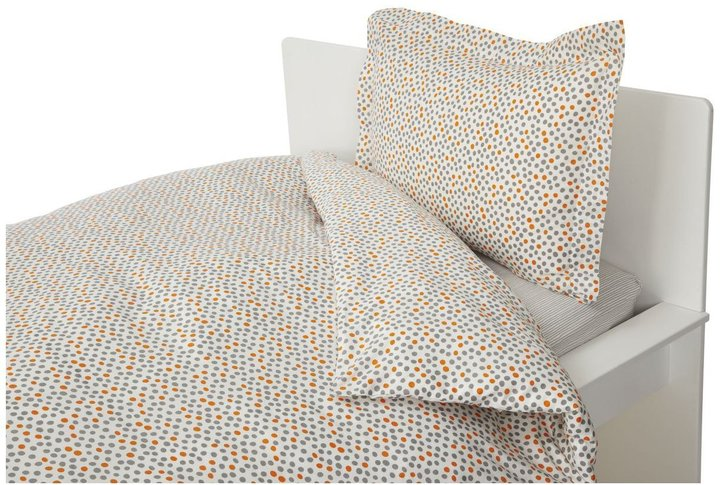 Argington Twin Duvet Set - Dots