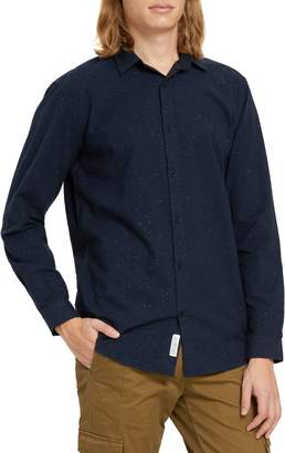 Frank and Oak Relaxed Fit Flannel Button-Up Shirt