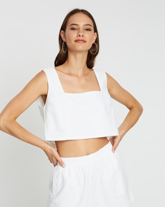 Nude Lucy Darcy Linen Cami