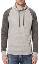 Buffalo David Bitton Forest Raglan Mock Neck Sweatshirt