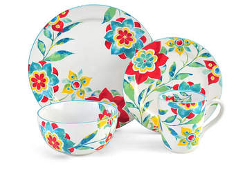 Pfaltzgraff Closeout! Floral Medallion 4 pc Place Setting, Service for 1