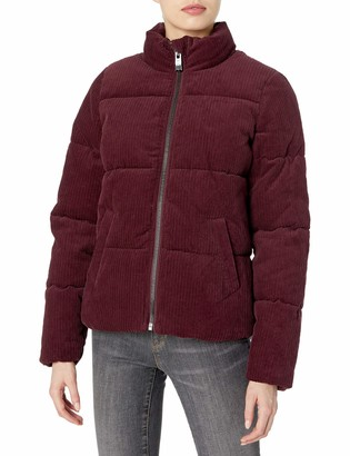 Andrew Marc Women's Wide-Wale Corduroy Super Puffer Jacket