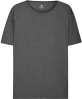 Sunspel Dark Grey Cotton T-shirt