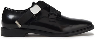 McQ Skelter Glossed-leather Brogues