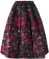 Comme des Garcons floral print full skirt - women - Silk/Polyester - S