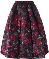 Comme des Garcons floral print full skirt