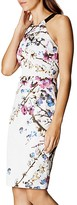 Karen Millen Sakura Sheath Dress