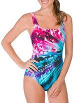 Reebok Maximal Rays One-Piece Swimsuit