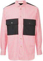 Education From Youngmachines checked shirt