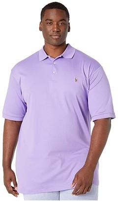 Polo Ralph Lauren Big & Tall Big Tall Short Sleeve Mesh Polo (Hampton Purple) Men's Short Sleeve Knit