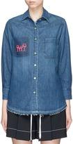 Sandrine Rose x The Webster 'The Boyfriend Shirt' in denim