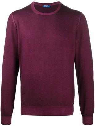 Barba Washed Crew Neck Sweater