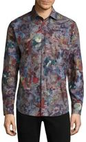 Robert Graham Noval Cotton Button-Down Shirt