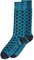 Alfani Men's Hexagon Crew Socks, Only at Macy's