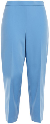 Theory Cropped Crepe Tapered Pants