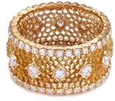 Buccellati 'Nuovo Tulle' diamond 18k yellow gold ring