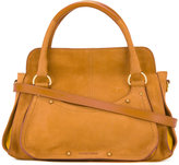 See by Chloe top handle tote bag - women - Cotton/Calf Leather - One Size