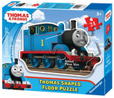 Ravensburger Thomas & Friends: Thomas the Tank Engine Shaped Floor Puzzle - 24 Pieces
