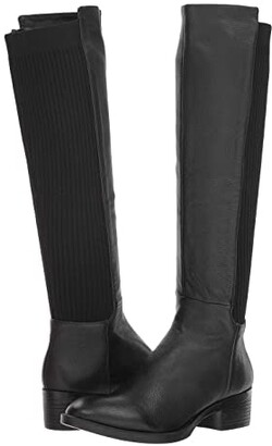 Kenneth Cole New York Levon Boot (Black Leather) Women's Zip Boots