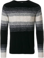 Paolo Pecora embroidered motif jumper