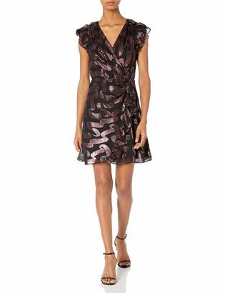 Rebecca Taylor Women's Sleeveless Metallic Lurex Dress