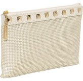 Whiting and Davis Studs & Snake Pouch