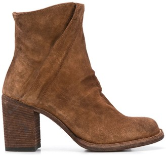 Officine Creative Heeled High-Ankle Boots