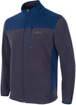 Greg Norman For Tasso Elba Men's Big and Tall 5 Iron Fleece Colorblocked Jacket