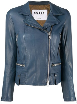 S.W.O.R.D 6.6.44 Leather Biker Jacket