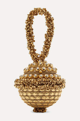 Mae Cassidy - Simi Sparkle Embellished Gold-tone Tote - One size